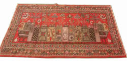 xinjiang antique rug