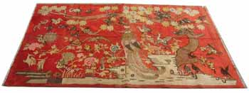 xinjiang antique carpet